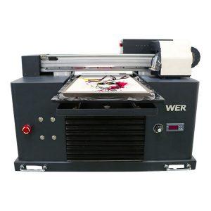 a4 lauak oihalezko inprimatzeko makina kamiseta inprimagailuarekin zuzenean jartzeko