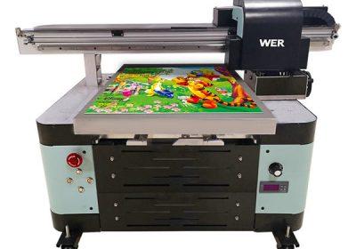 oversea makina digitala onartzen 2 uv flatbed printer
