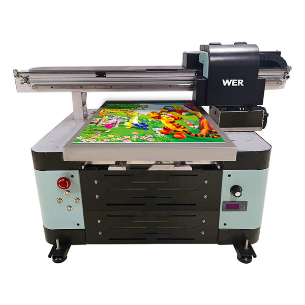 oversea makina digitala onartzen 2 uv flatbed printer