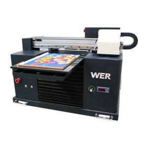 a3 uv inprimagailua, tamaina txikia eta aurreratua, uv flatbed printer