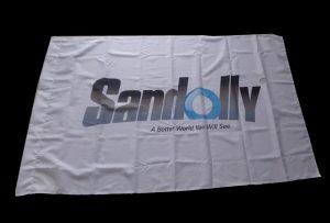 Bandera-oihalezko panpina, 1,6 metroko inprimagailu eco-inprimatzailea (5 oin) eta WER-ES160