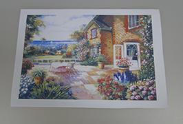 Olio Canvas inprimagailu eco-inprimagailu 2,5 m (8 oin) inprimatuta 2 WER-ES2501 2