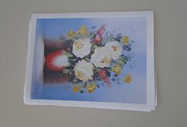 Olio Canvas inprimagailu eco-dissolvente 2.5m (8 oin) WER-ES2502 inprimatuta