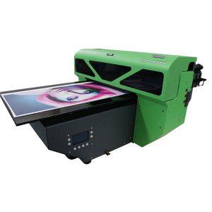 dx7 inprimatzeko burua digital a2 tamaina uv flatbed printer